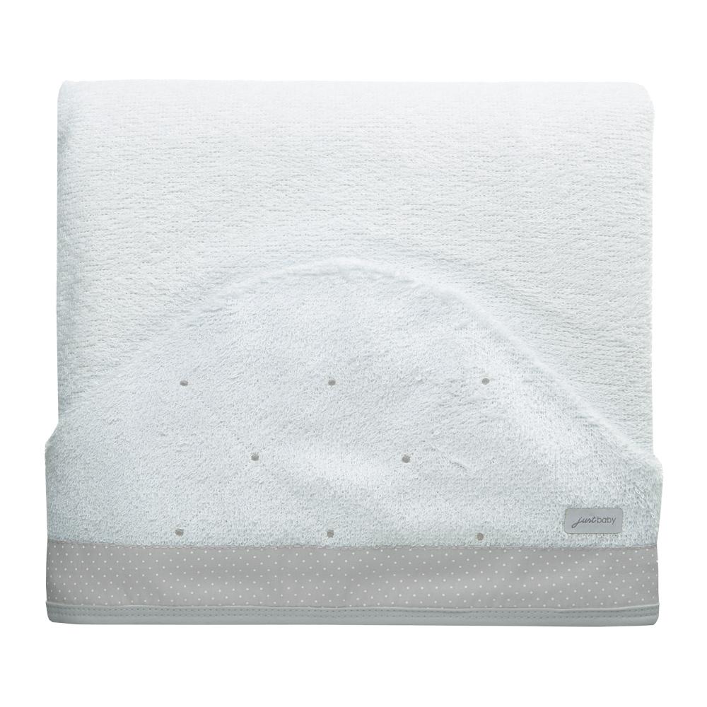 Toalha de banho felpuda Classic Cinza