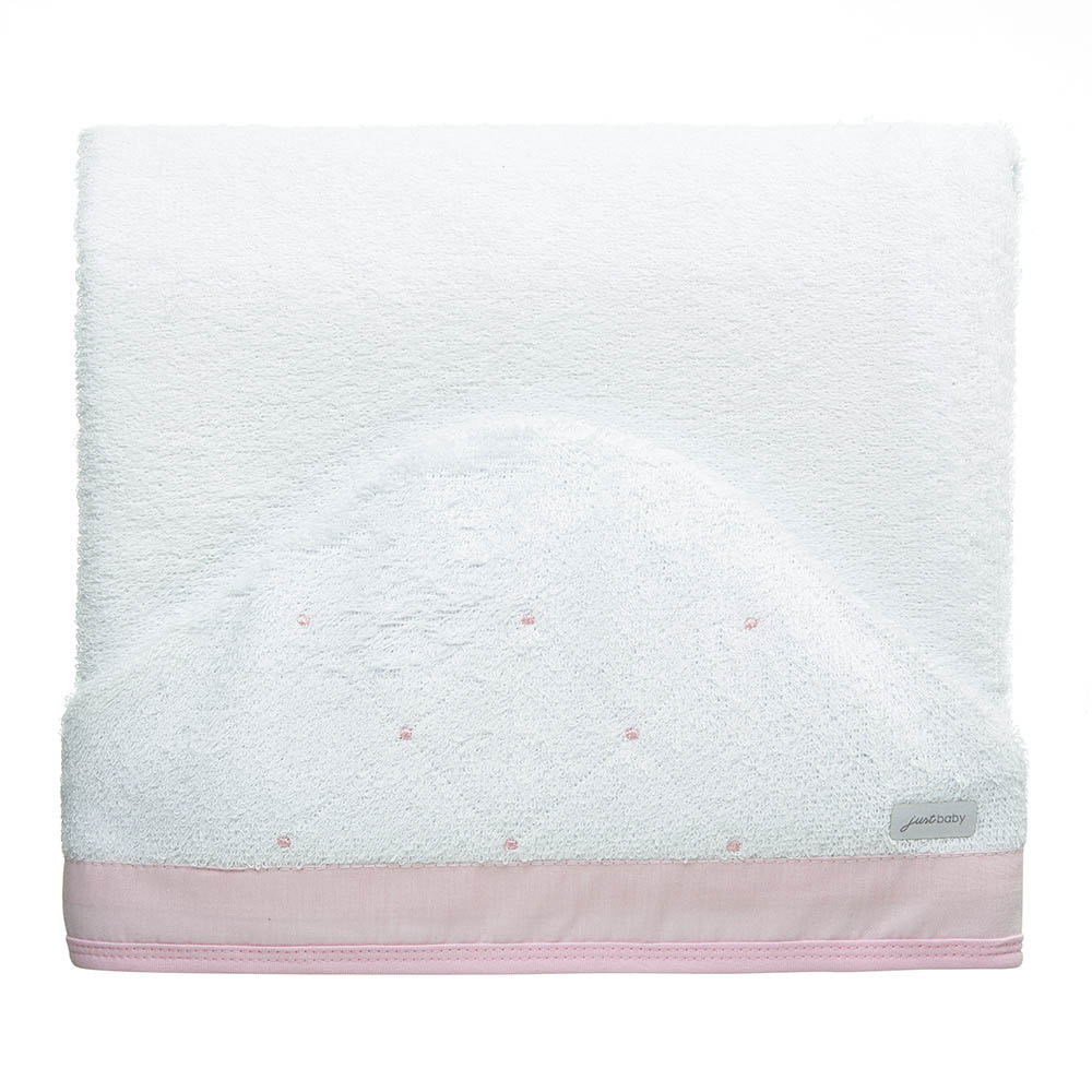 Toalha de banho felpuda Classic Rosa