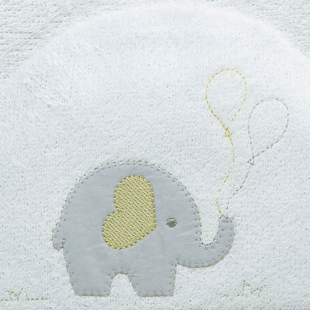 Toalha de banho felpuda Elefantinho