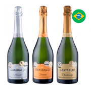 Kit Espumantes Garibaldi Linha Especial