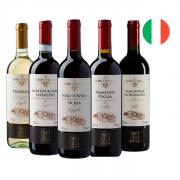 Kit Vinhos Italianos Nobili - 5 unidades