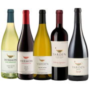 Kit Vinhos Kosher Israelenses Yarden e Hermon - 5 unidades