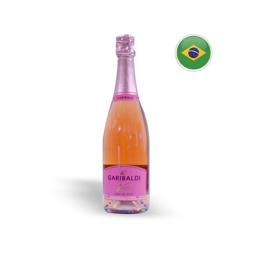 Espumante Nacional Rosé Garibaldi Vero Demi-Sec Garrafa 750ML