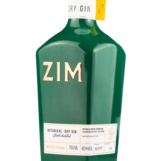 Gin Nacional Zim Mystic Fusion Verde 750ML