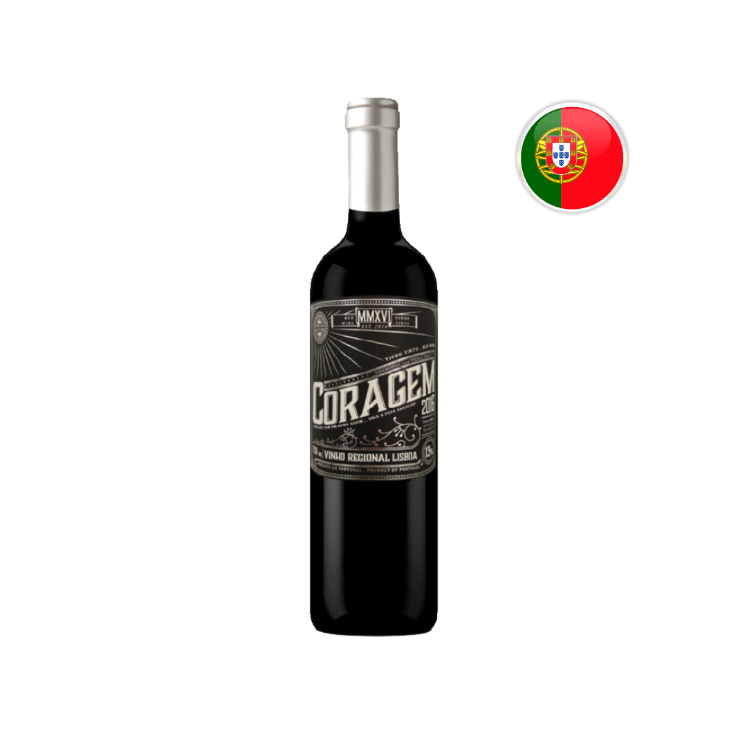 Kit Seleção Portugal - vinhos Coragem 3 unidades