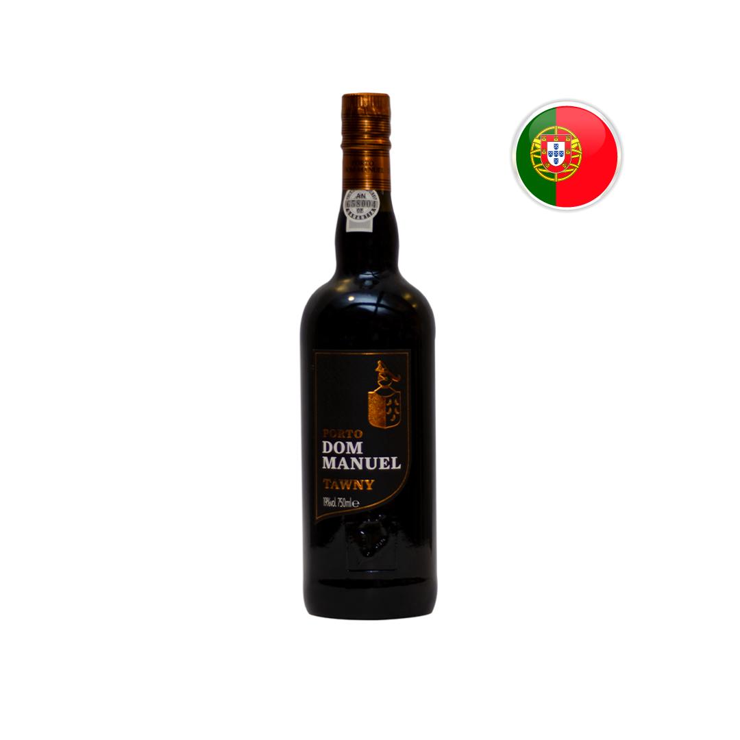Kit Vinho do Porto Dom Manuel Tawny + Chocolate Lindt Balls com Doce de Leite 200G