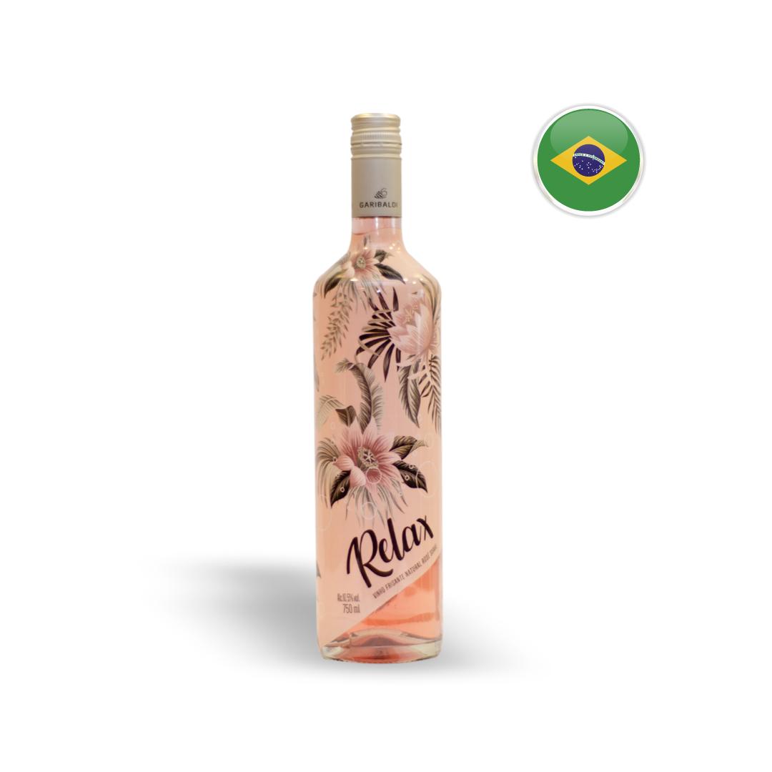Kit Vinhos Relax Branco e Rosé + Chocolate Lindt Milk Balls 200G