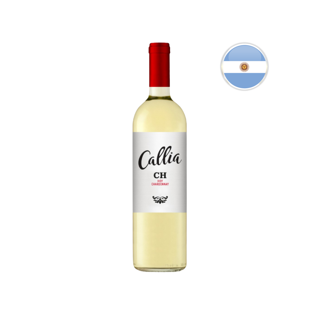 Vinho Argentino Branco Callia Chardonnay 750 ML