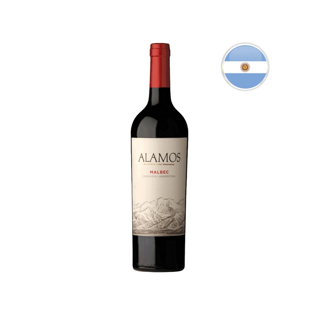 Vinho Argentino Tinto Alamos Malbec 750ML