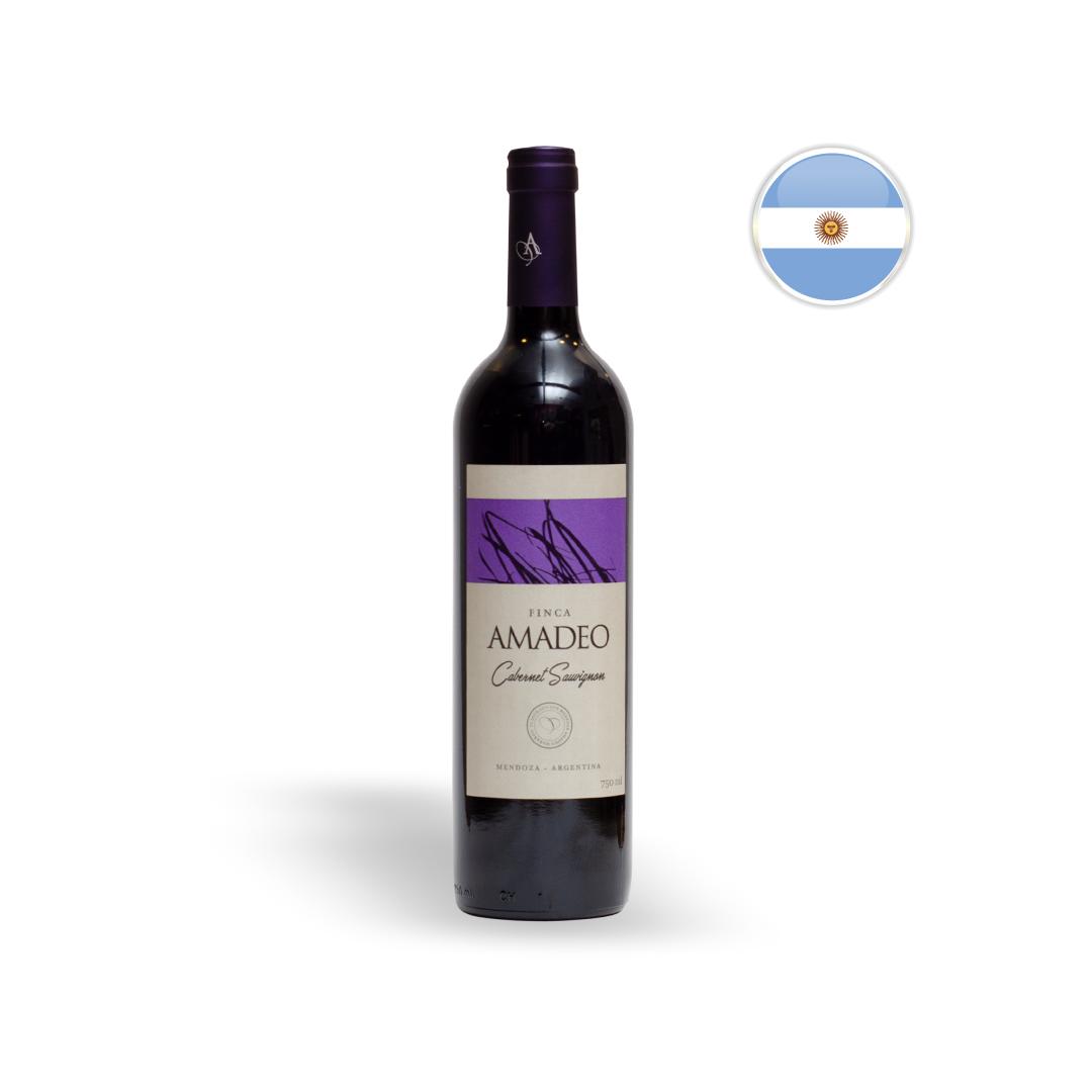 Vinho Argentino Tinto Amadeo Cabernet Sauvignon 750ML