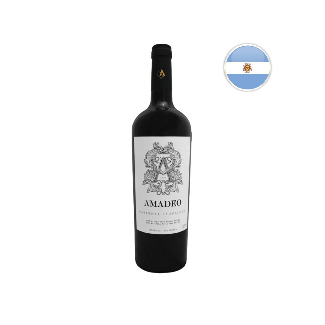 Vinho Argentino Tinto Amadeo Premium Cabernet Sauvignon 750ML