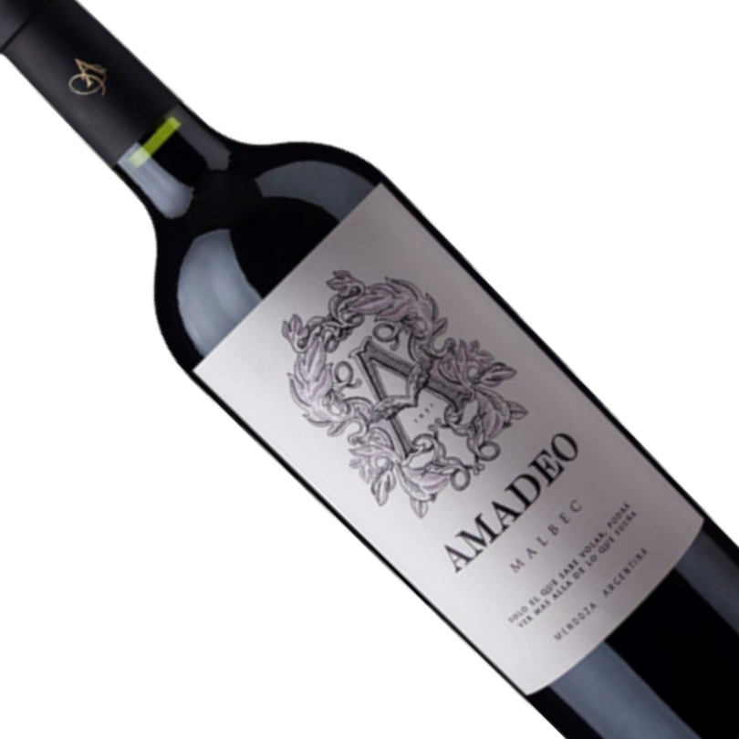 Vinho Argentino Tinto Amadeo Premium Malbec 750ML