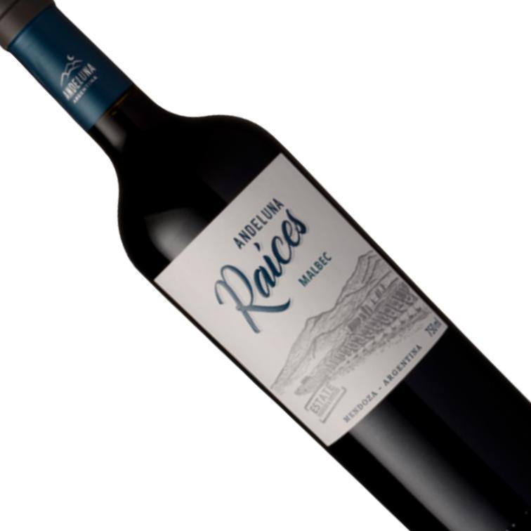 Vinho Argentino Tinto Andeluna Raices Malbec 750ML