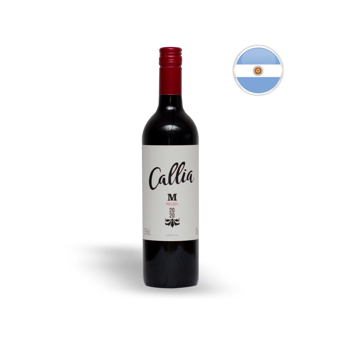 Vinho Argentino Tinto Callia Malbec Garrafa 750 ML