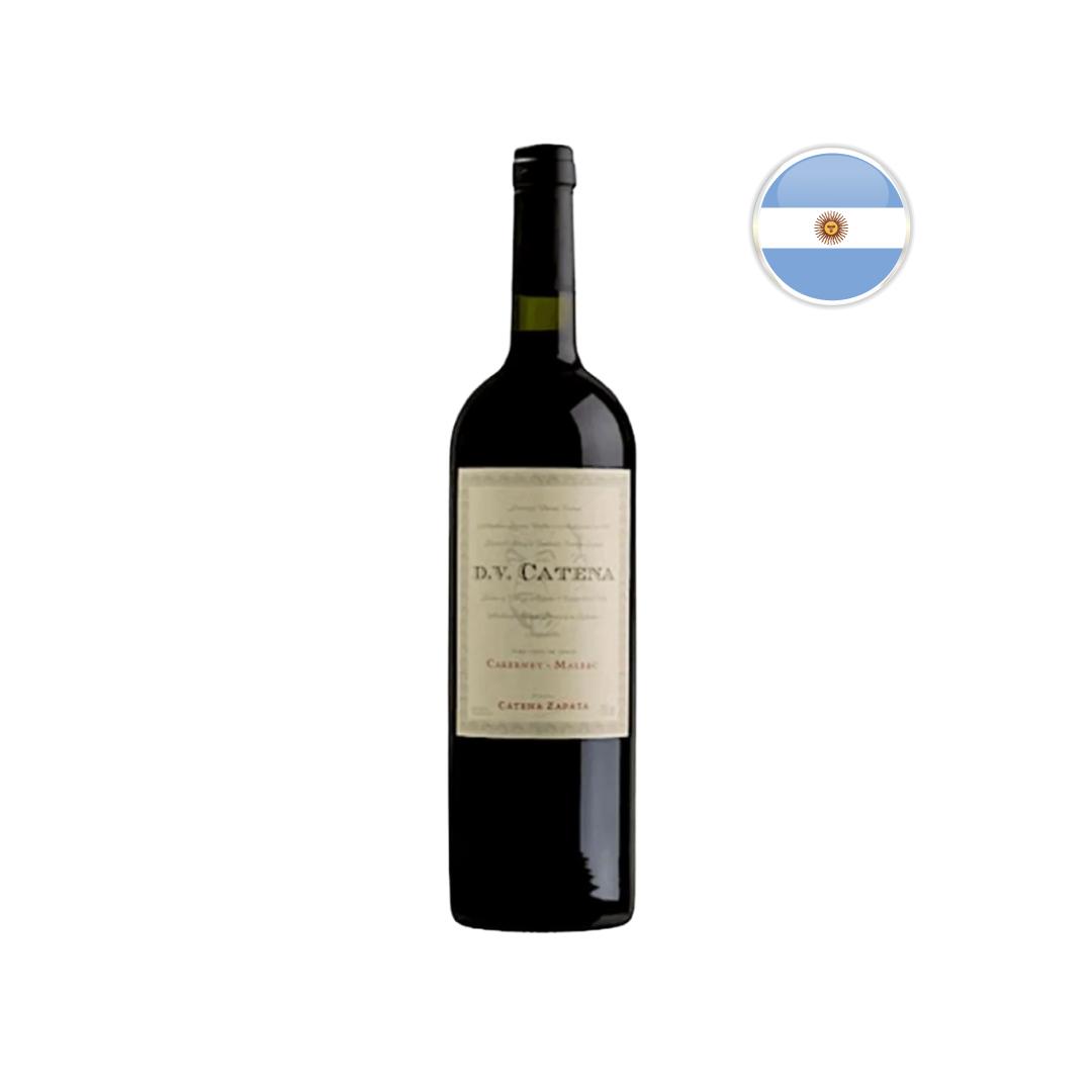 Vinho Argentino Tinto DV Catena Cabernet Sauvignon - Malbec 2018 - 750ML