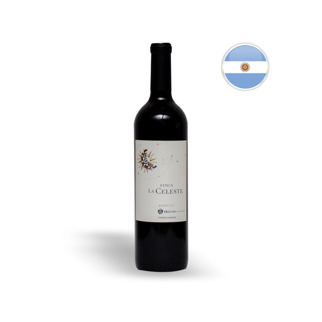 Vinho Argentino Tinto Finca La Celeste Malbec Garrafa 750ML