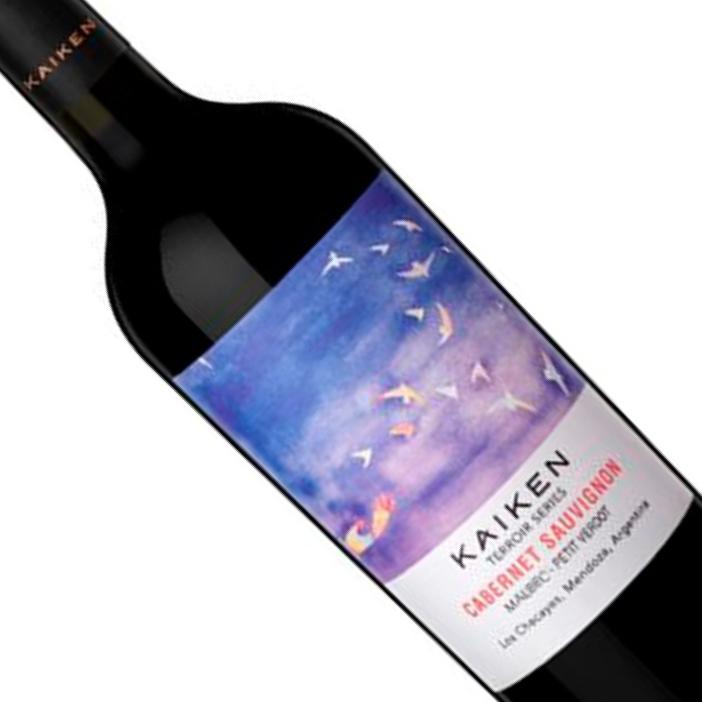 Vinho Argentino tinto Kaiken Terroir Series Cabernet Malbec Petit Verdot TTO 750 ML