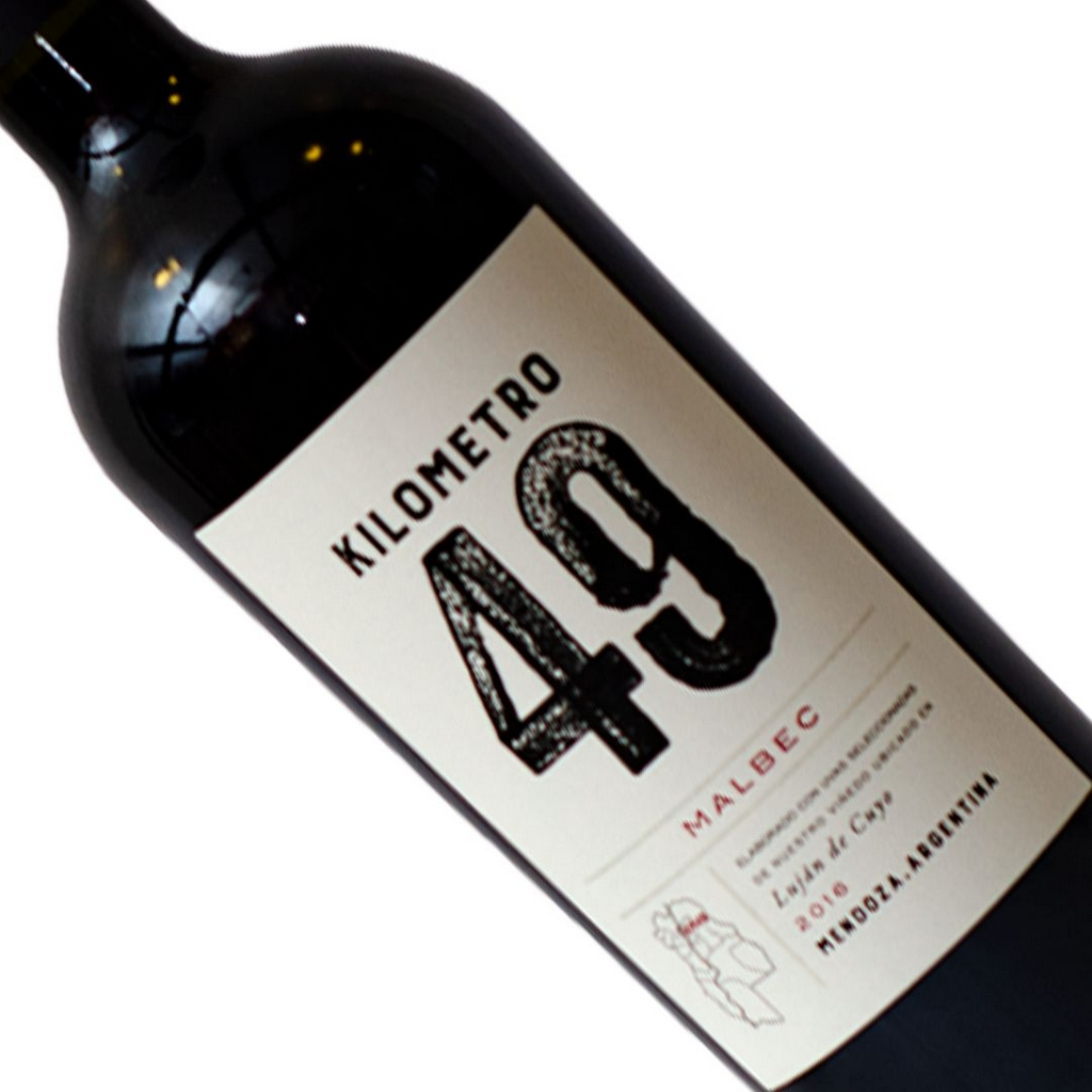 Vinho Argentino Tinto Kilometro 49 Malbec Garrafa 750ML