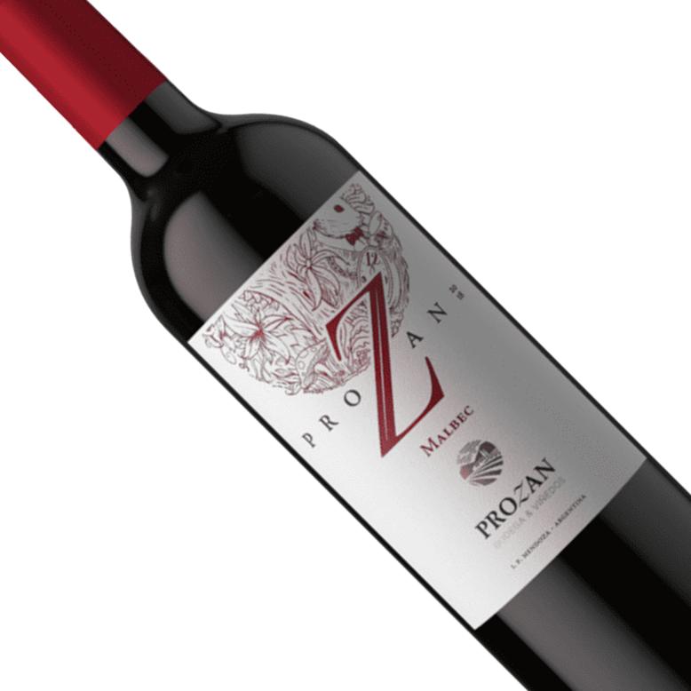 Vinho Argentino Tinto Prozan Malbec Garrafa 750ML