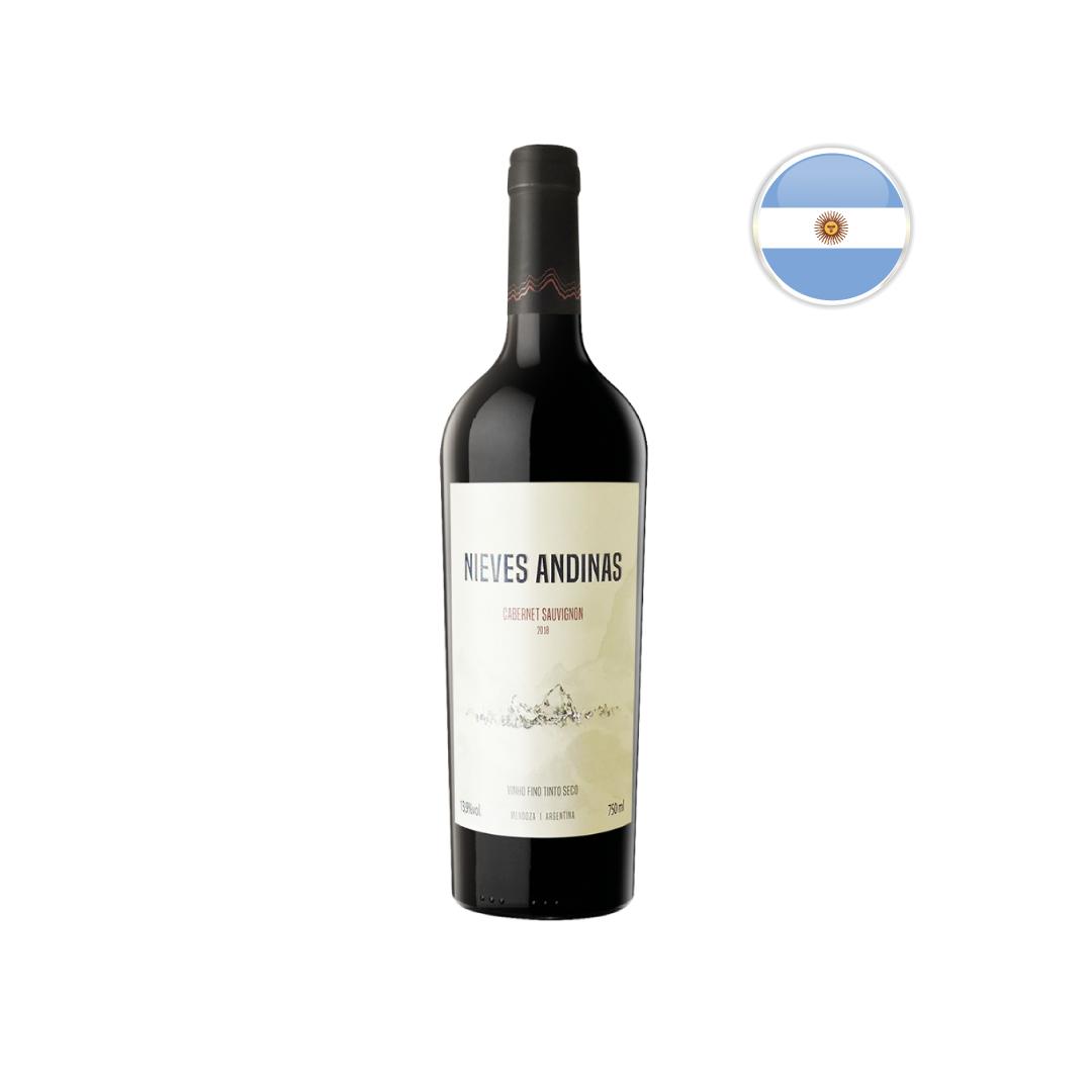 Vinho Argentino Tinto SC Nieves Andinas Cabernet Sauvignon Garrafa 750ML