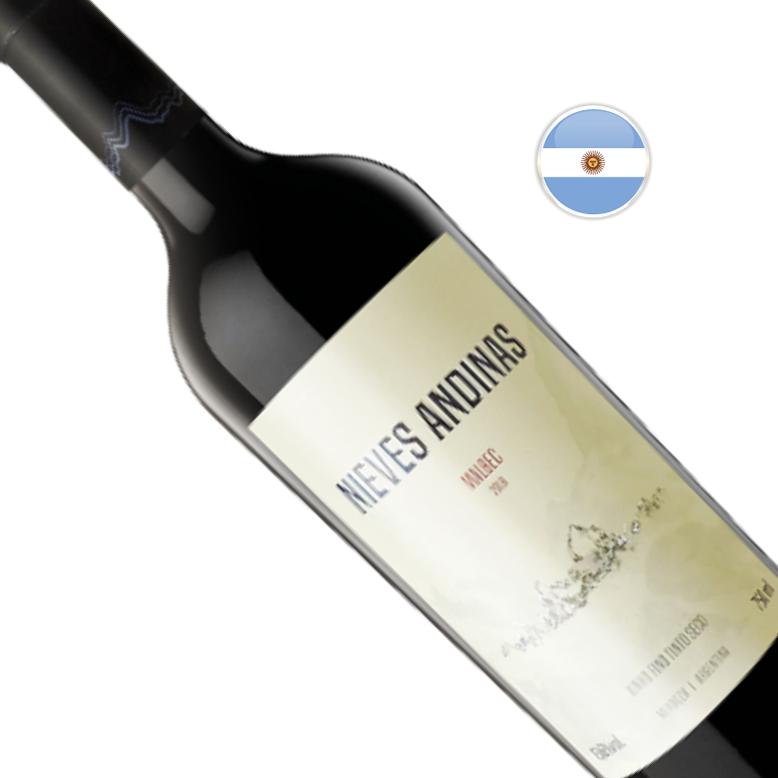 Vinho Argentino Tinto SC Nieves Andinas Malbec Garrafa 750ML