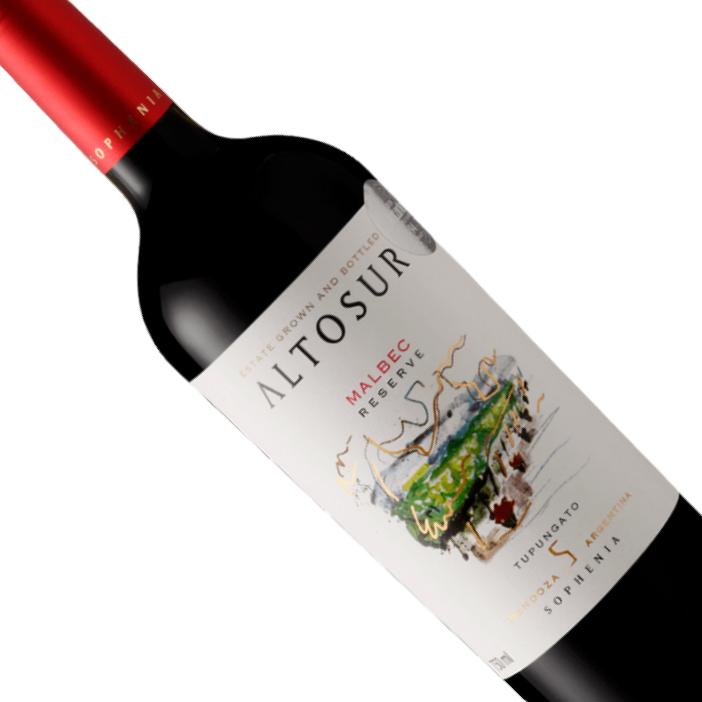 Vinho Argentino Tinto Sophenia Altosur Reserva Malbec 750ML