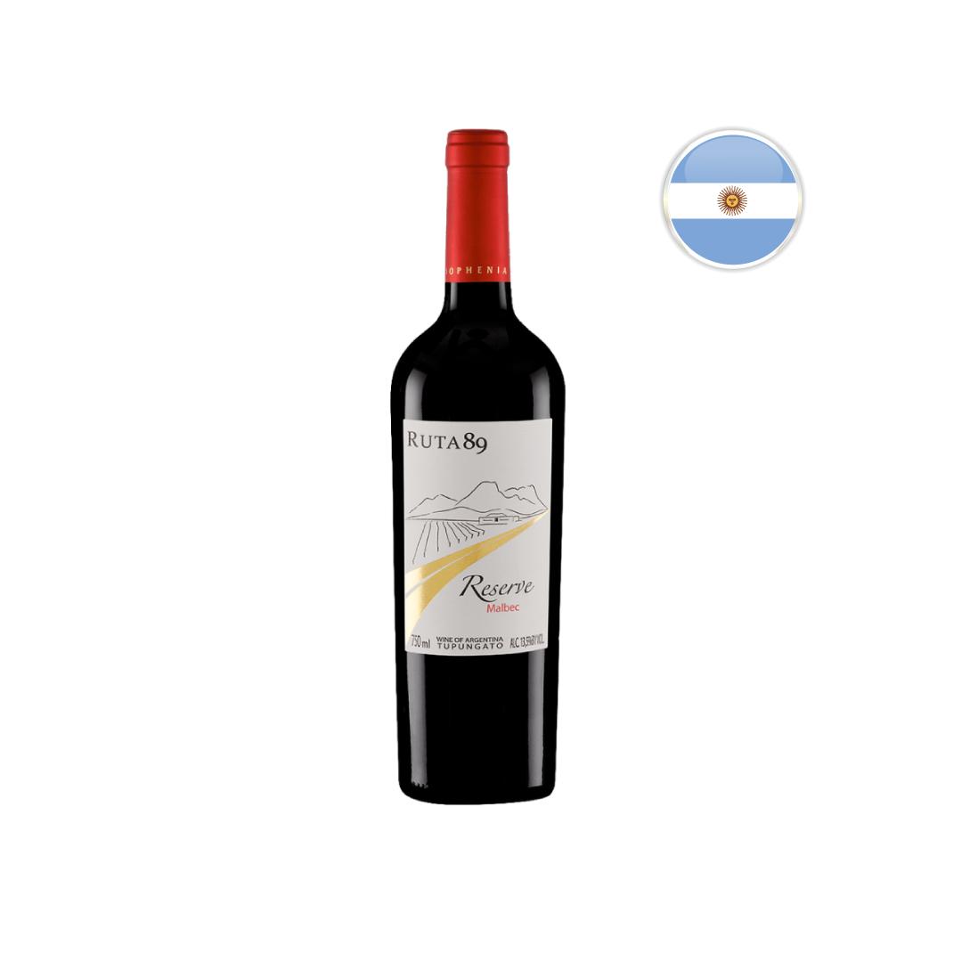 Vinho Argentino Tinto Sophenia Ruta 89 Reserve Malbec 750ML