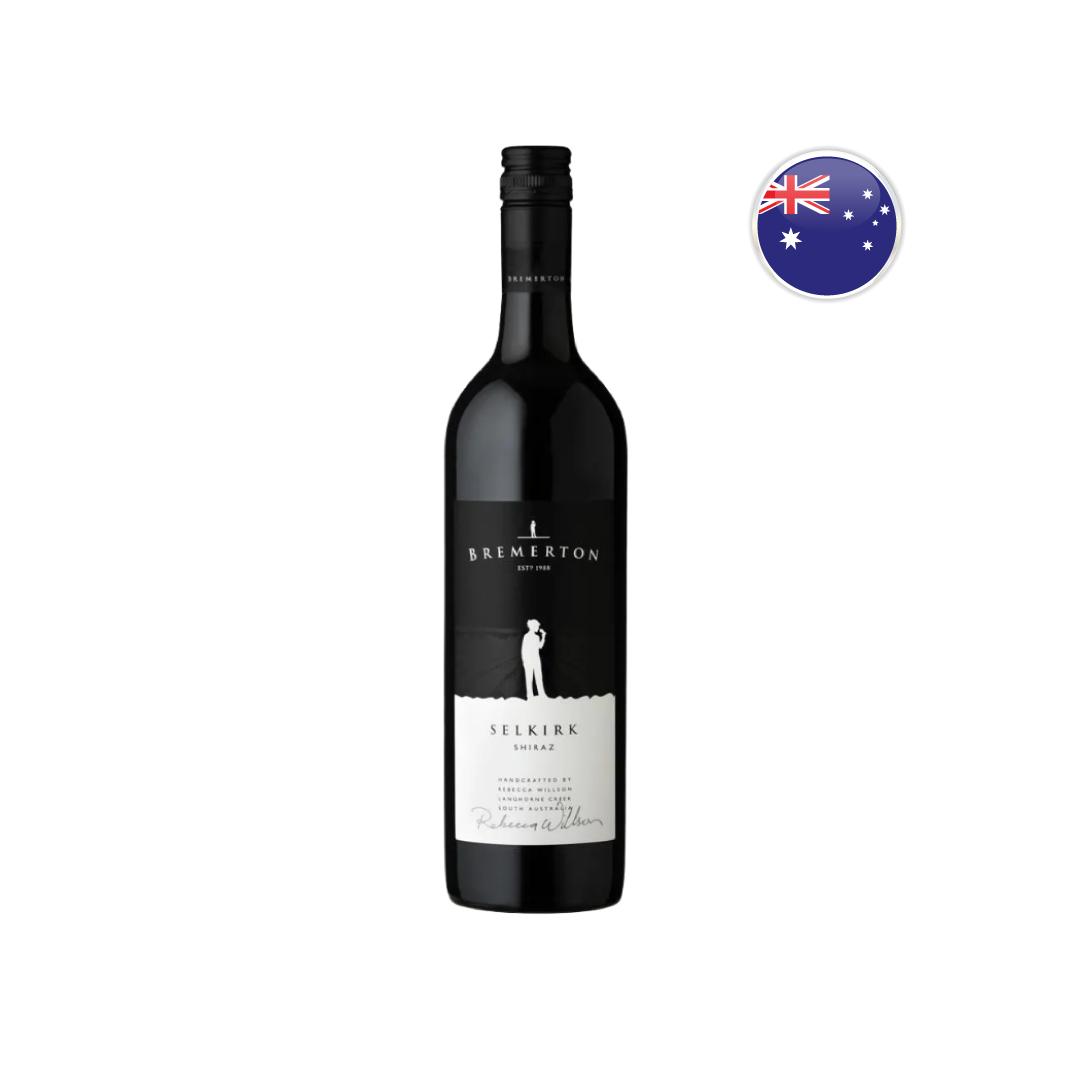 Vinho Australiano Tinto Bremerton Selkirk Shiraz 2018 - 750ml