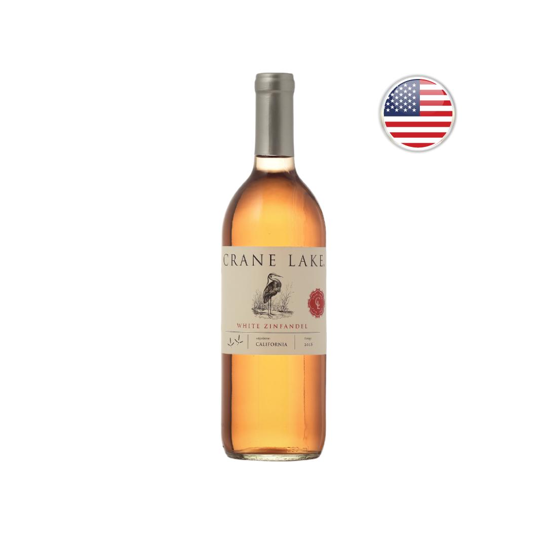 Vinho Californiano Branco Crane Lake White Zinfandel 2019 - 750 ML