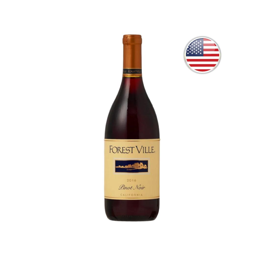 Vinho Californiano Tinto Forest Ville Pinot Noir 2016