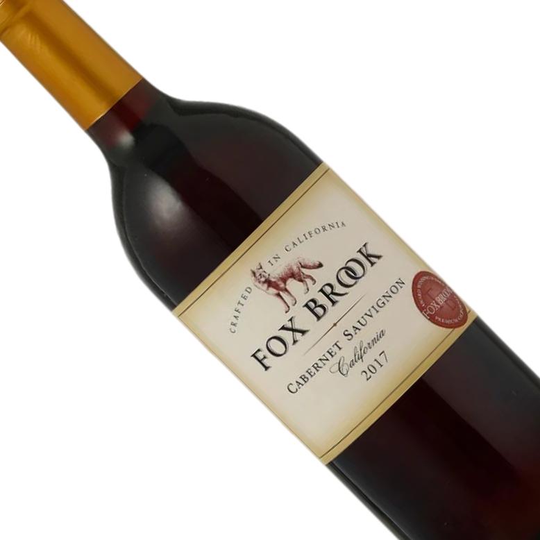 Vinho Californiano Tinto Fox Brook Cabernet Sauvignon 2017 - 750ML