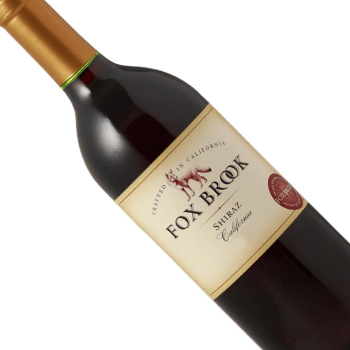 Vinho Californiano Tinto Fox Brook Shiraz 2015 - 750ML