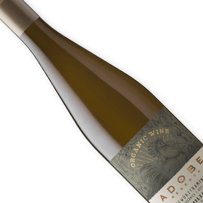 Vinho Chileno Branco Orgânicoa Emiliana Adobe Gewurztraminer 750ML