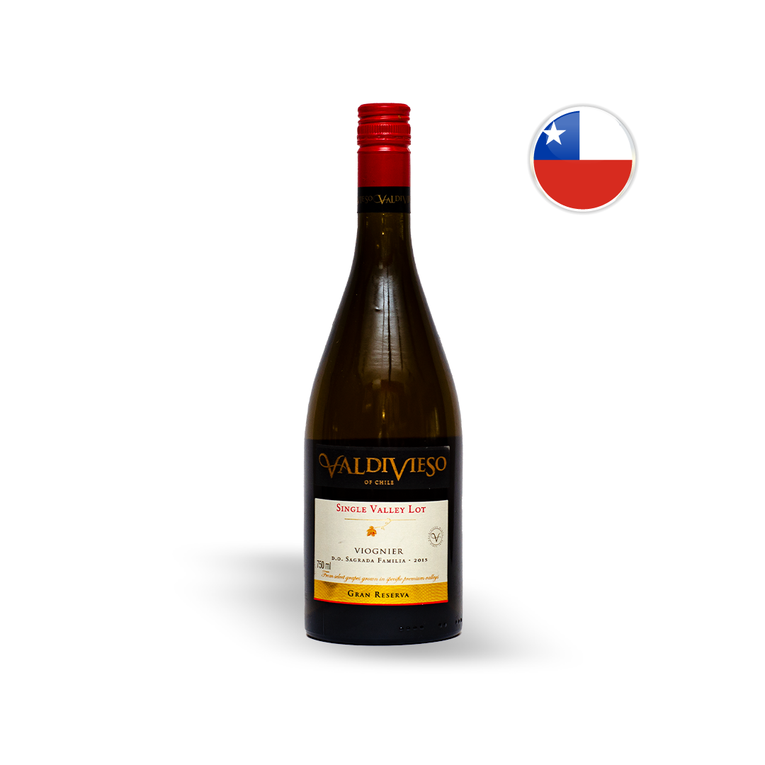 Vinho Chileno Branco Valdivieso Grand Reserva Viognier Garrafa 750ML