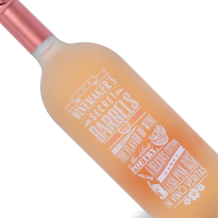 Vinho Chileno Rosé The Winemaker's Secret Barrel Blend Garrafa 1L