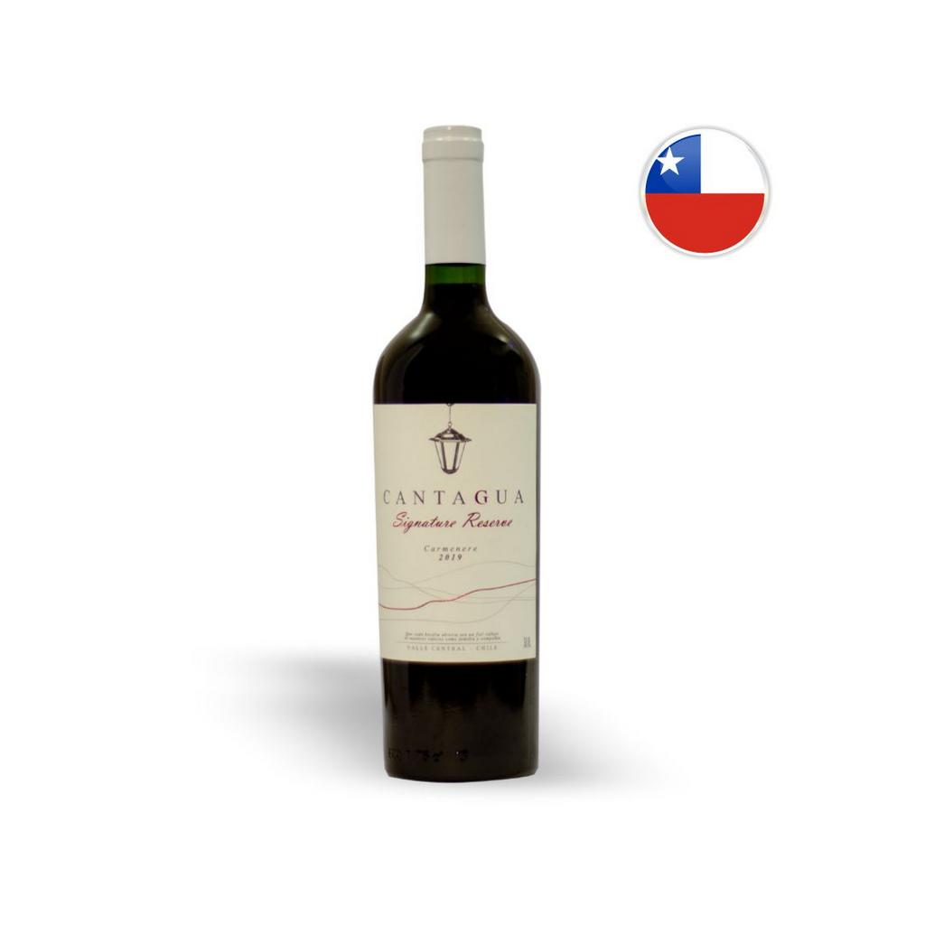 Vinho Chileno Tinto Cantagua Reserve Signature Carmenere Garrafa 750ML