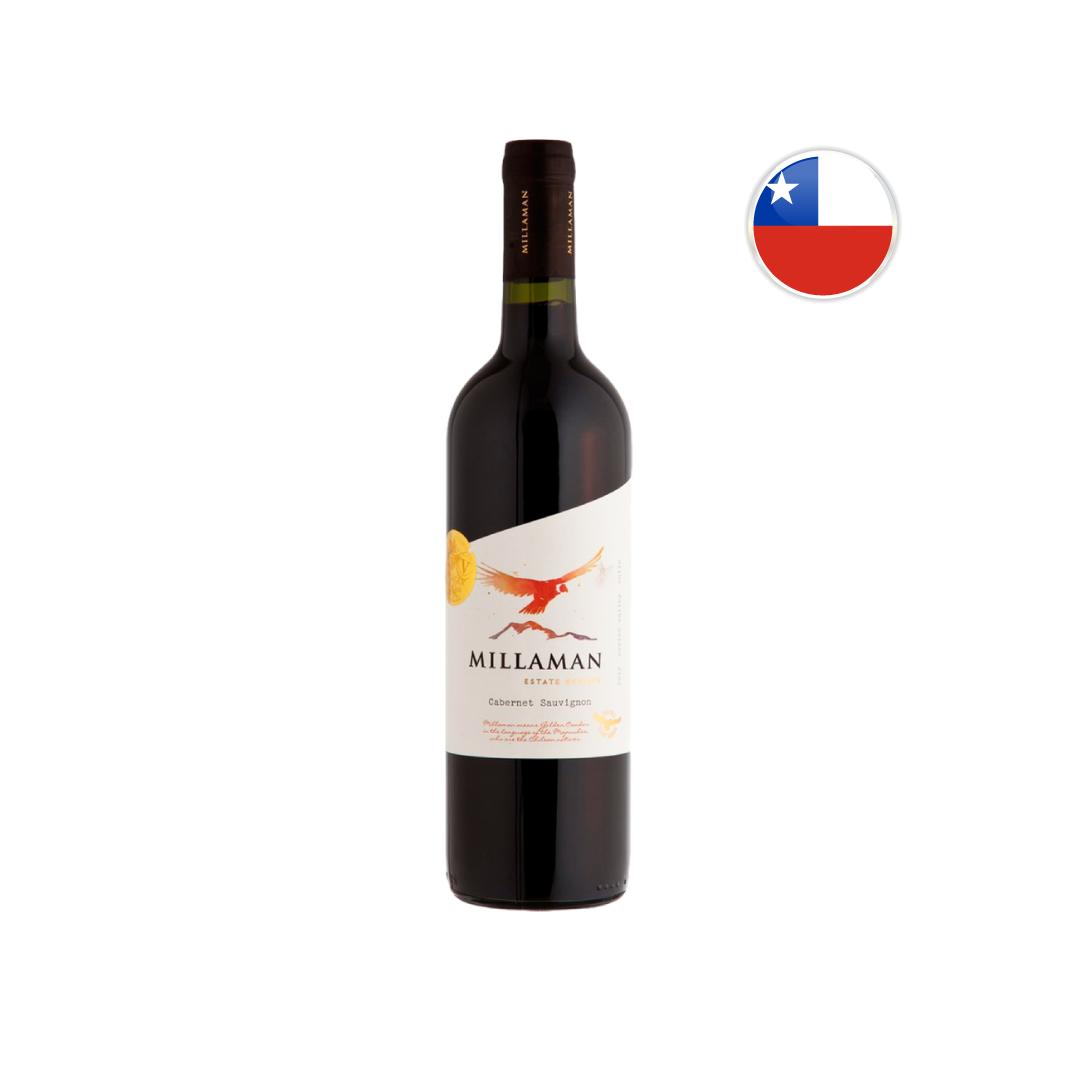 Vinho Chileno Tinto Millaman Estate Reserve Cabernet Sauvignon 750ML