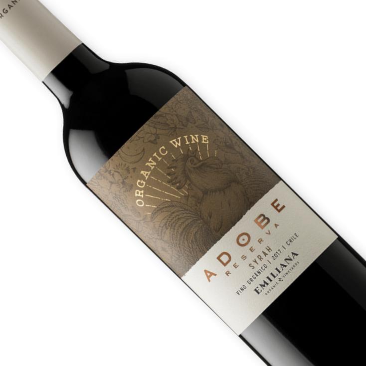 Vinho Chileno Tinto Orgânico Emiliana Adobe Syrah 750ML