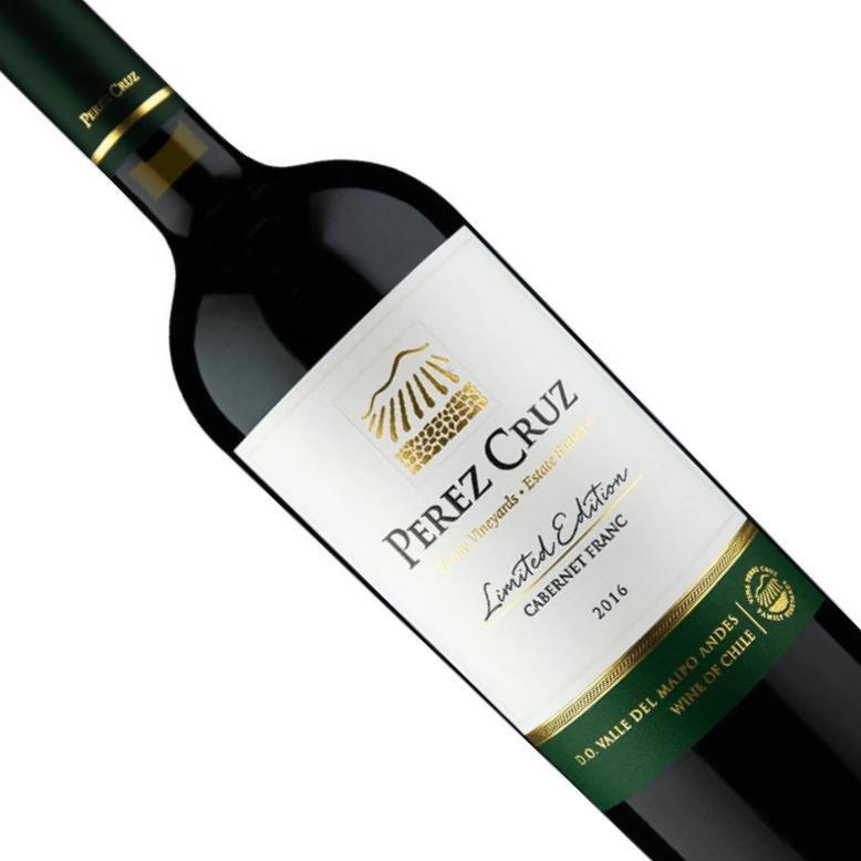 Vinho Chileno Tinto Perez Cruz Cabernet Franc Limited Edition 2018