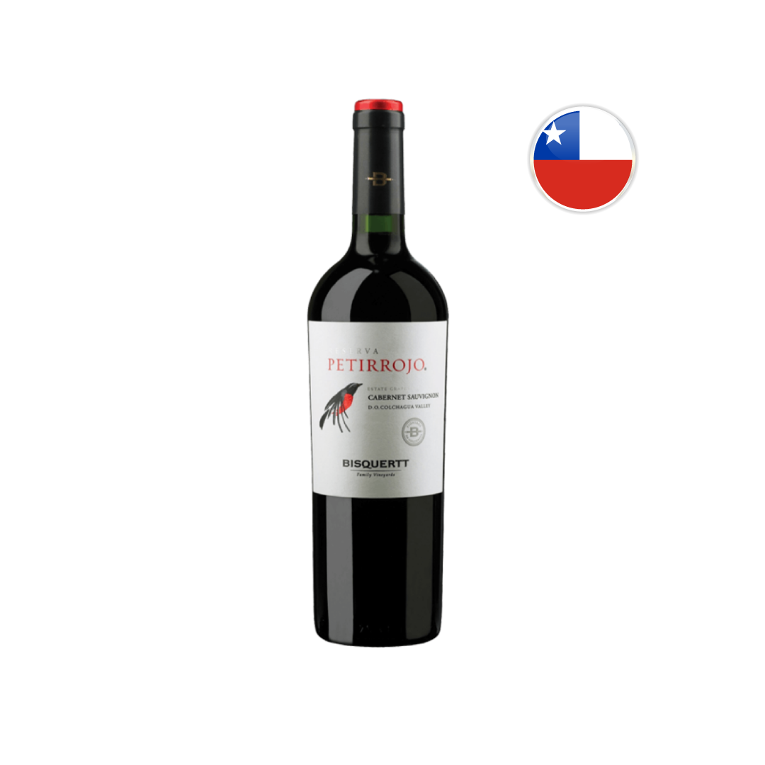 Vinho Chileno Tinto Petirrojo Reserva Cabernet Sauvignon 750ML