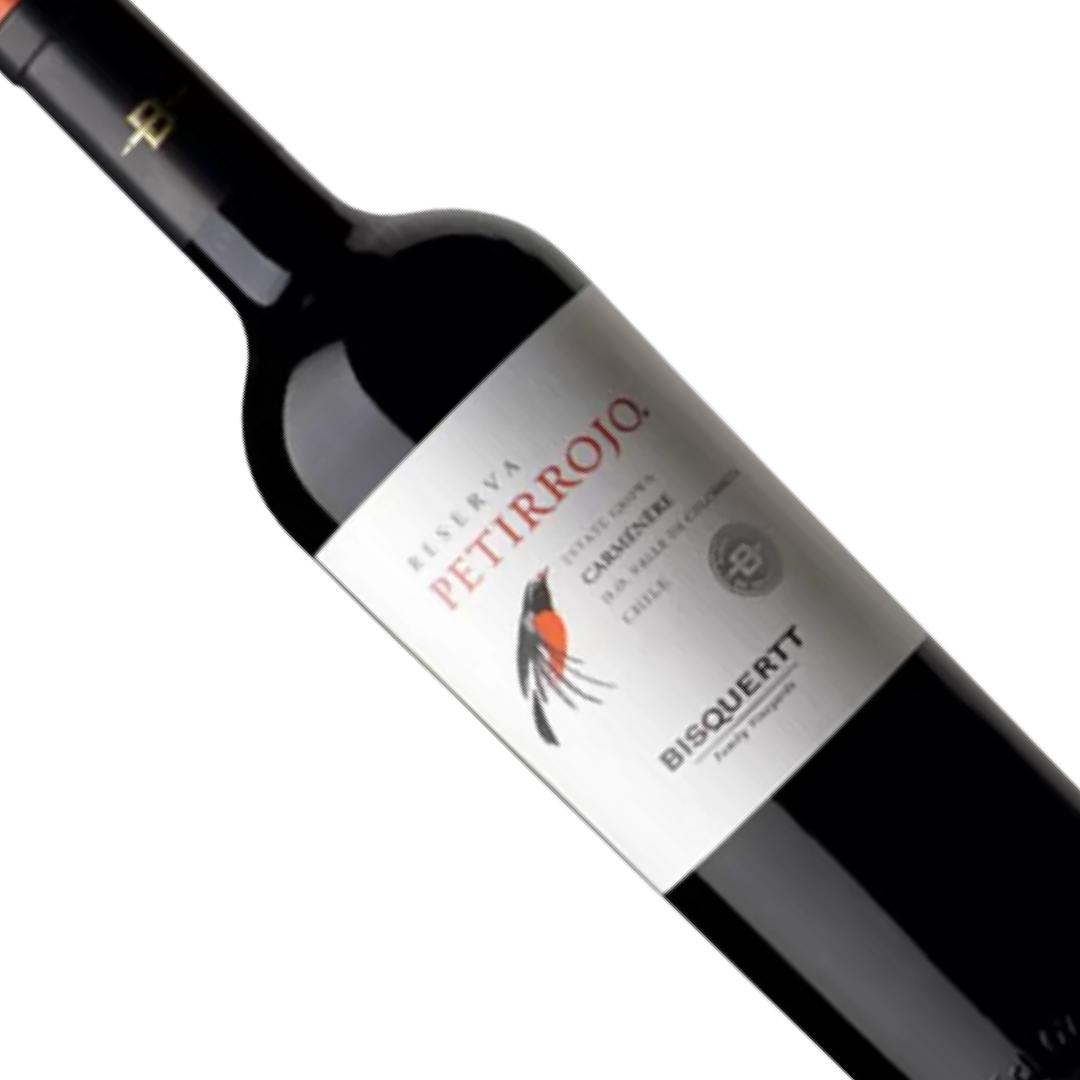 Vinho Chileno Tinto Petirrojo Reserva Carmenere 750ML
