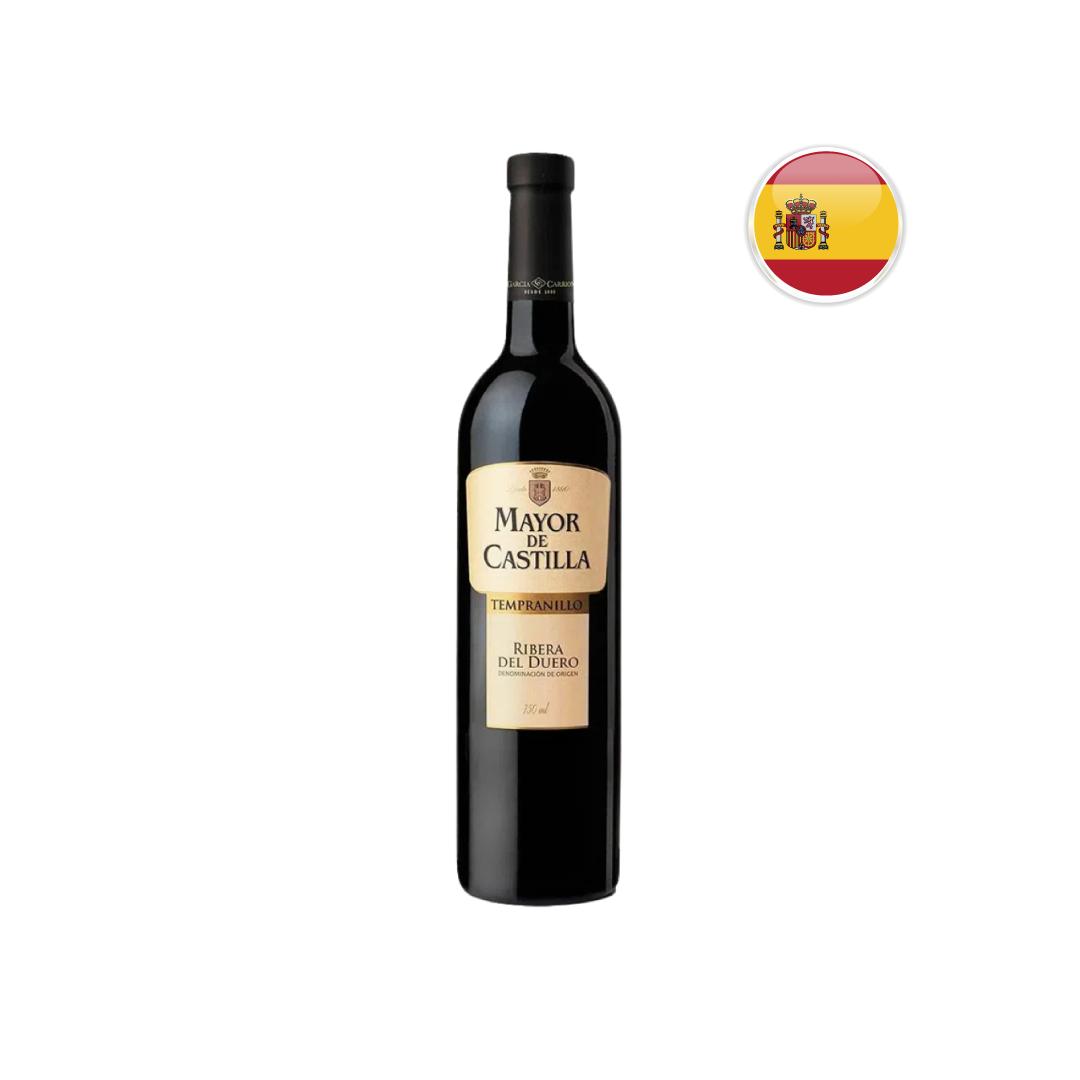 Vinho Espanhol Tinto Mayor de Castilla Tempranillo 750ML