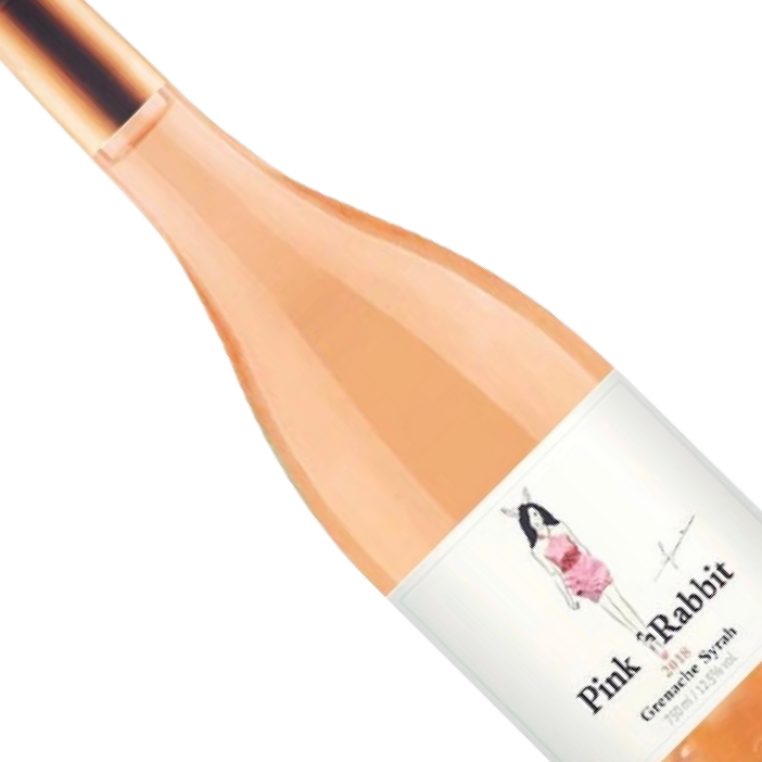 Vinho Francês Rosé Pink Rabbit Syrah e Ganache - 750ML