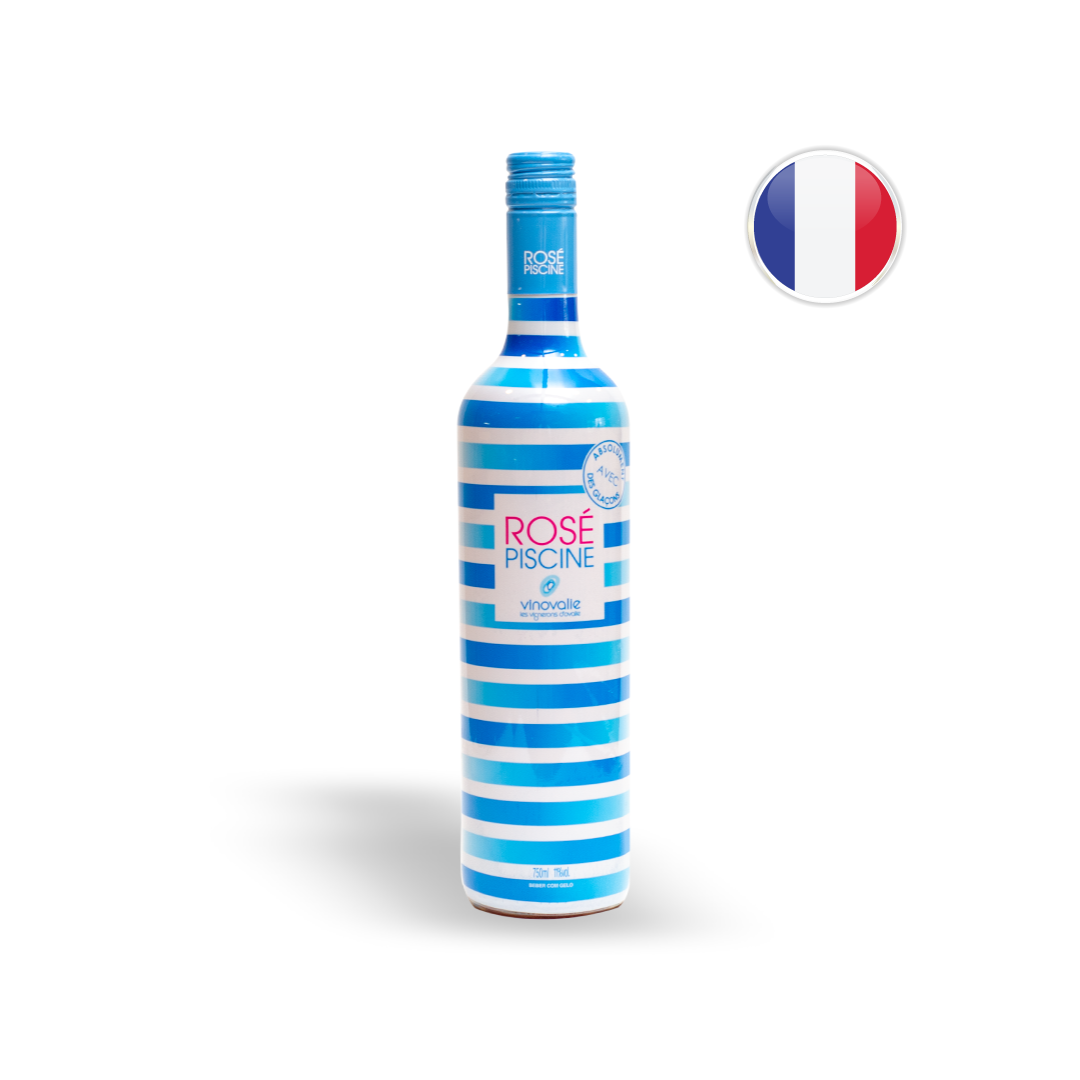 Vinho Francês Rosé Piscine Garrafa 750ML