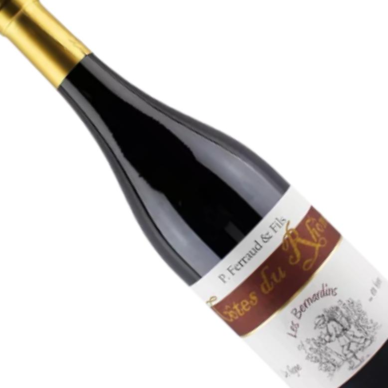 Vinho Francês Tinto Cotes Du Rhone P. Ferraud Les Bernardins 750ML