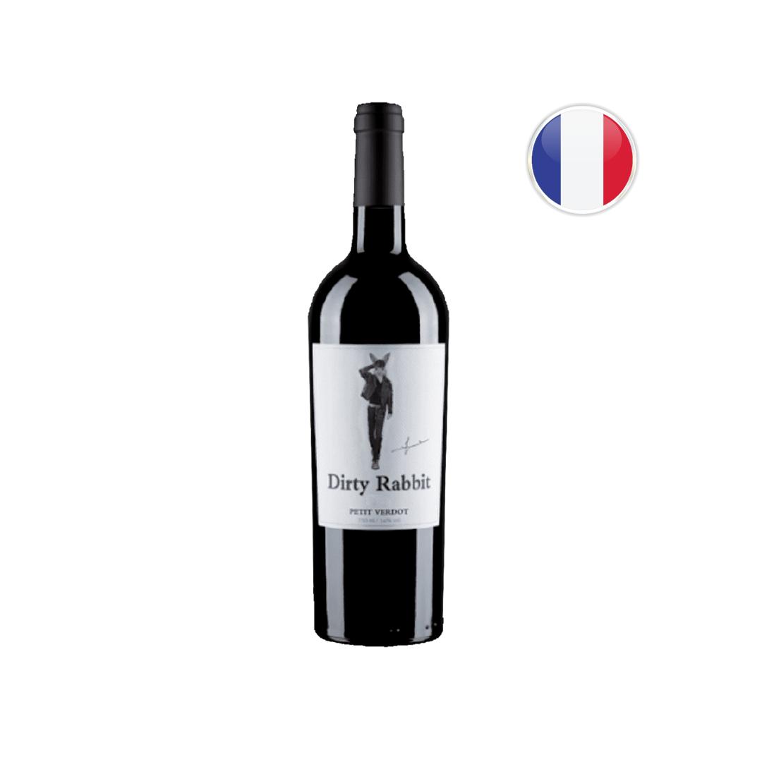 Vinho Francês Tinto Dirty Rabbit Petit Verdot 750ML