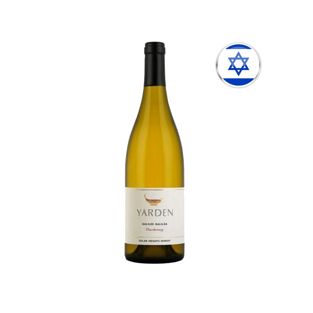 Vinho Israelense Branco Yarden Chardonnay Garrafa 750ML