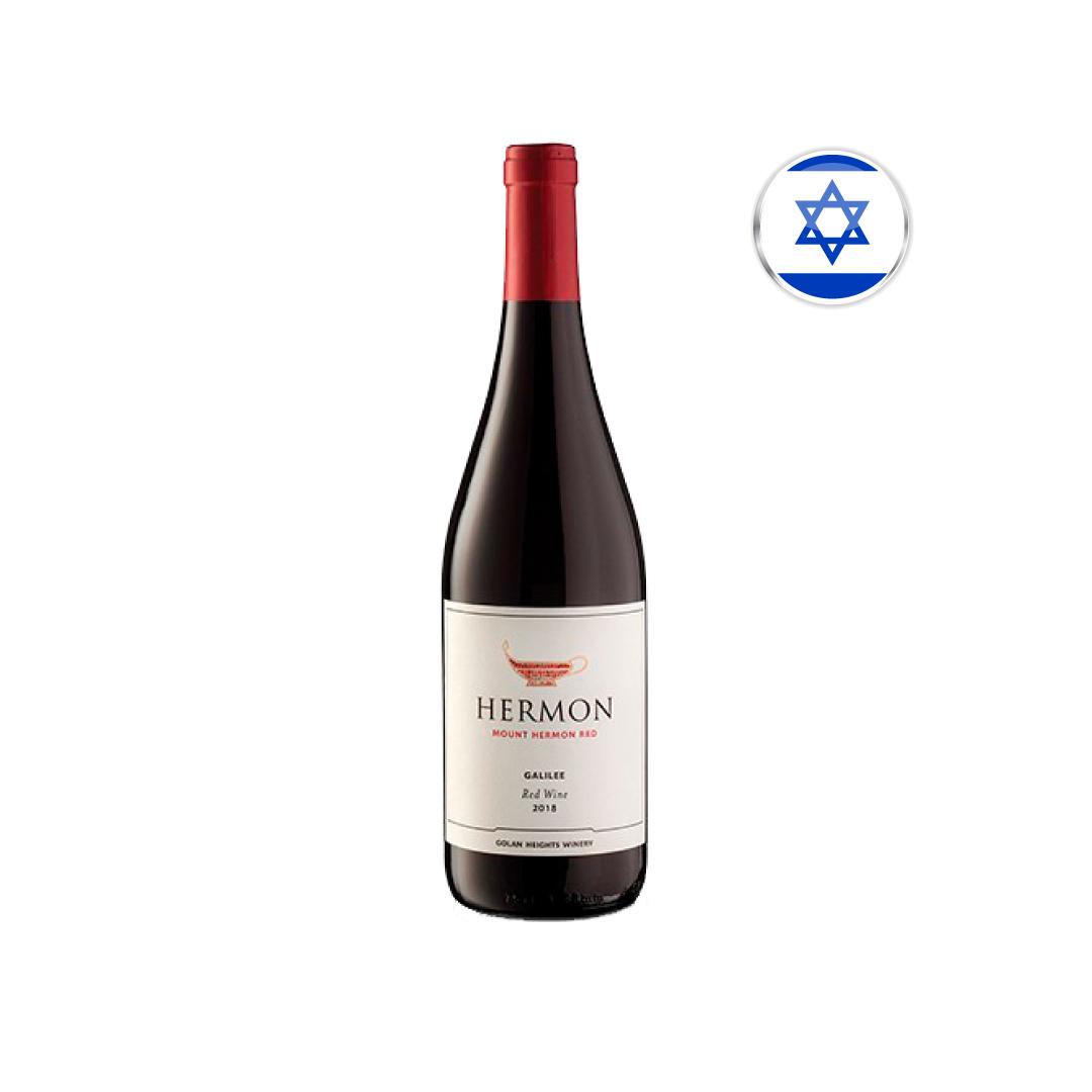 Vinho Israelense Kosher Tinto Hermon Red Wine Garrafa 750ML