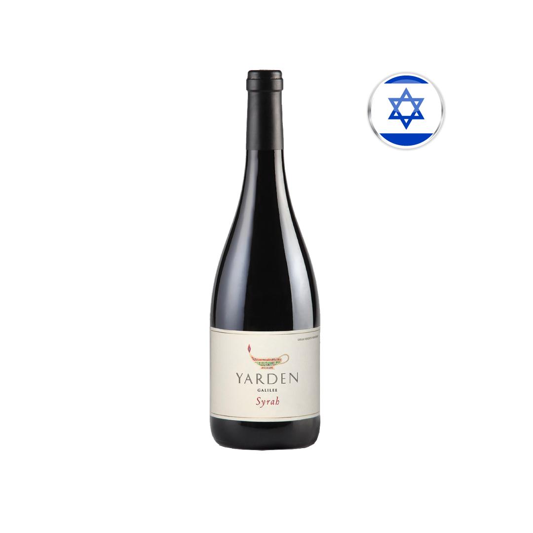 Vinho Israelense Kosher Tinto Yarden Syrah Garrafa 750ML