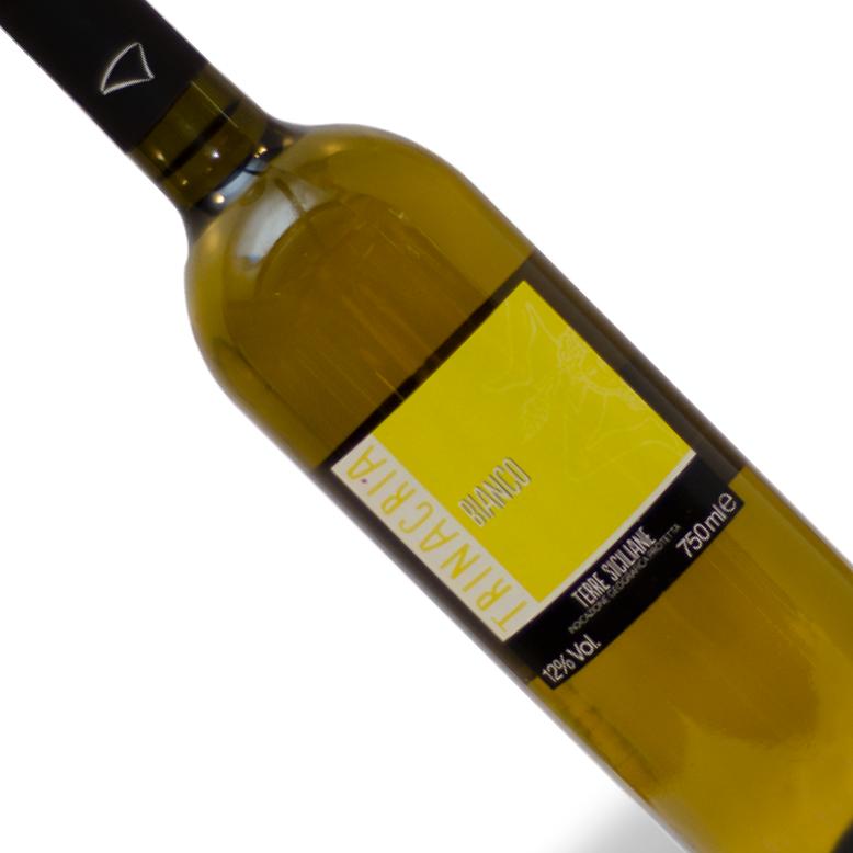 Vinho Italiano Branco Cantine Birgi Trinacria Garrafa 750ML
